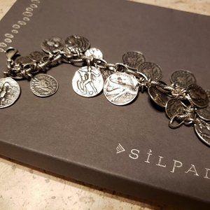 Ancient Coin Charm Silpada bracelet
